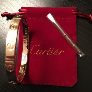 New Cartier Love Bracelet Rose Gold Haiahjndebsj